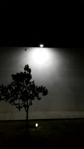 lámpara solar 24 led luz continua