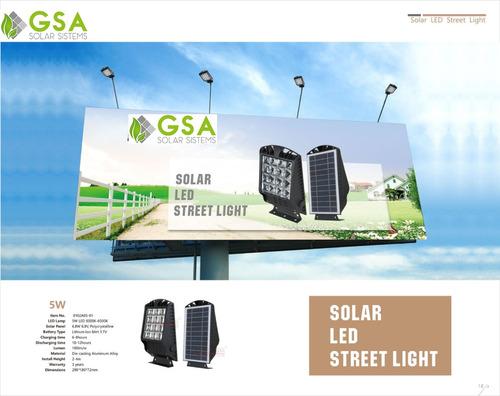 lámpara solar 3en1 para exterior 2w 200lm 2 años garantía