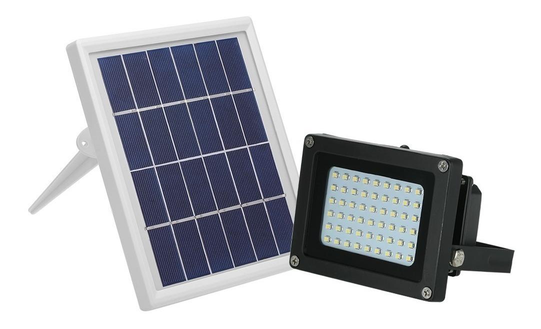 Lampara Solar 54 Led Para Exteriores Y Jardín Panel Solar