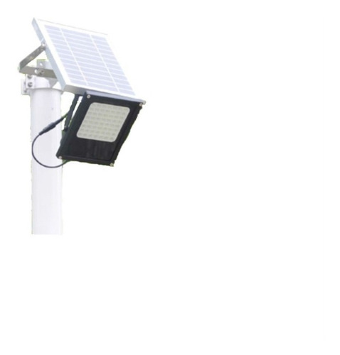 lampara solar 56 led reflector p/exterior