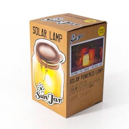 lámpara solar.