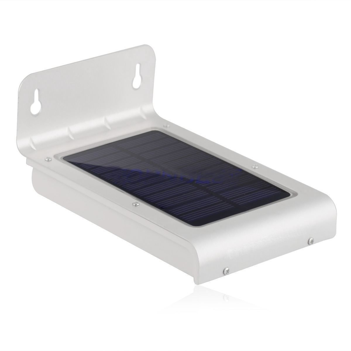 L mpara solar de 24 leds luminaria led solar for Lampara solar led