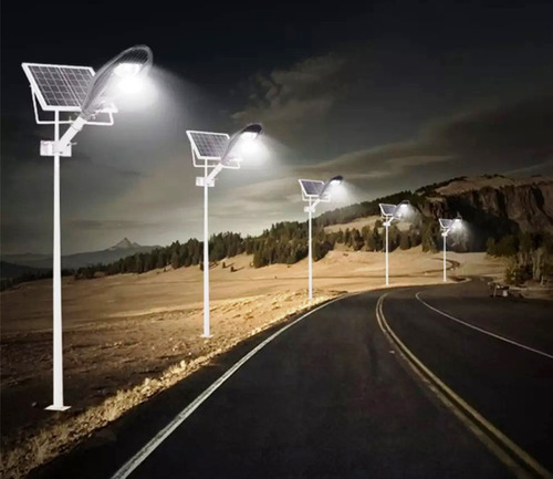 lámpara solar de 80w para calle jardín terrazas todo en uno
