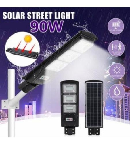 lampara solar de calle 90watt,clase a