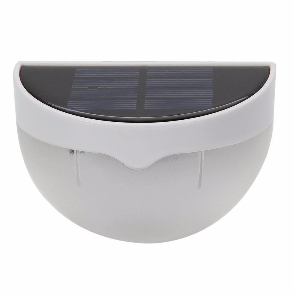L mpara solar exterior 6 led 4 l mparas envio gratis en mercado libre - Lampara solar exterior ...