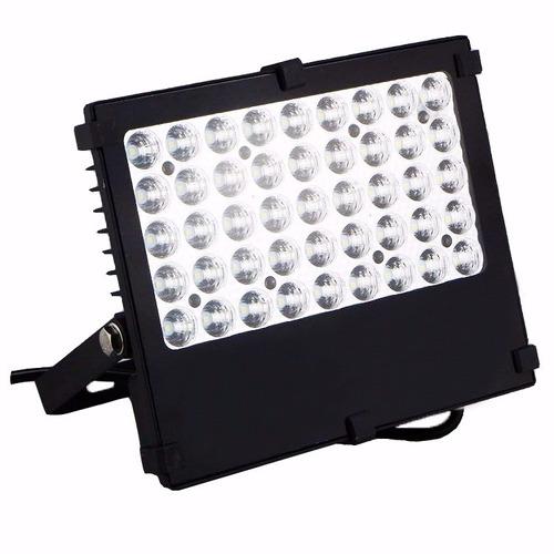 lampara solar exteriores 45 led con panel solar y reflector