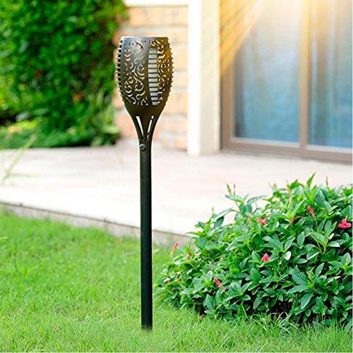 lámpara solar jardín
