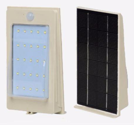 lampara solar led  3w recargable encendido automatico kit