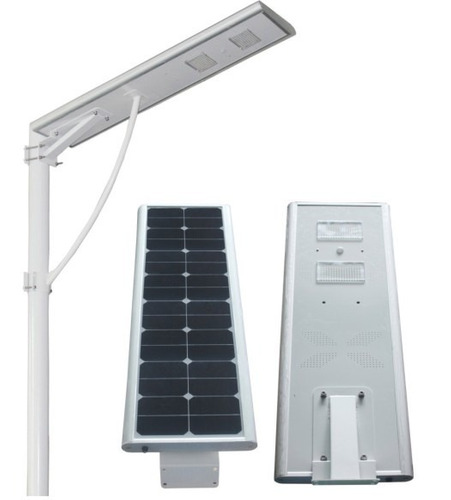 lampara solar led 40w all in one exteriores con panel solar