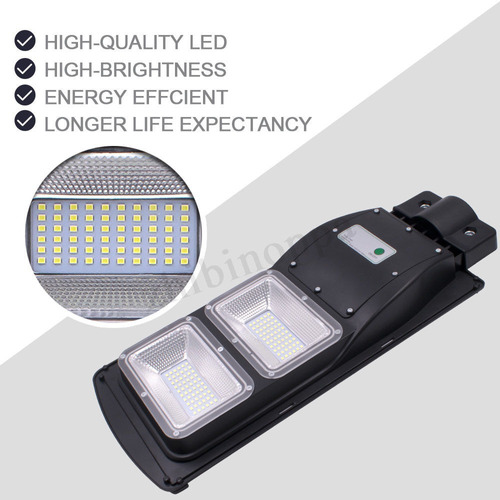 lampara solar led calle exteriores 60 watts entrega 20 dias