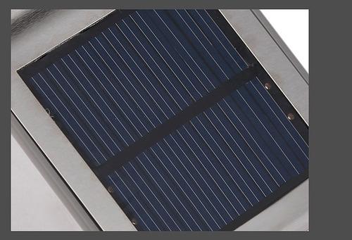 lámpara solar led con sensor de movimiento p/exterior mfhh34