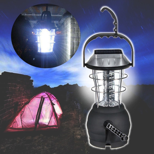 lampara solar led de alto brillo con 36 luces