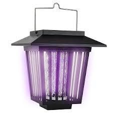 Lampara solar mata mosquitos insectos led y uv u s 24 99 - Lampara mata mosquitos ...