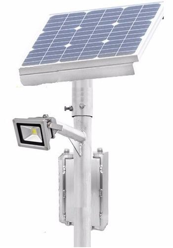 lampara solar parque