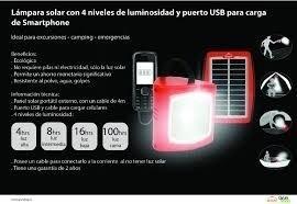 lampara solar s300 d.light - importada
