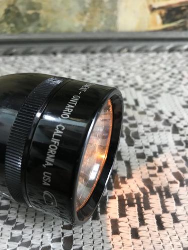 lámpara sorda mag lite made in usa , la mejor usa 3 pilas d.