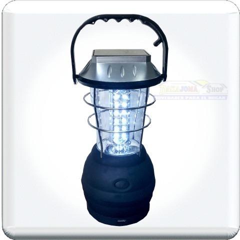 lampara spluminica 36 leds, solar, dinamo, usb carga dispts
