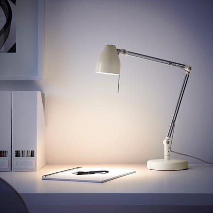 De Sueca Ikea Original Mesa Lámpara Blanca Importada Tral pUSMVqz