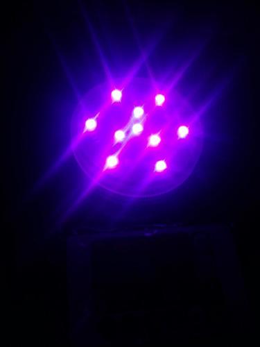 lámpara sumergible led rgb c/control