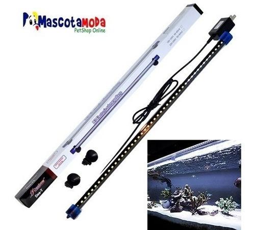 lampara sumergible luz led acuarios y peceras 40cm