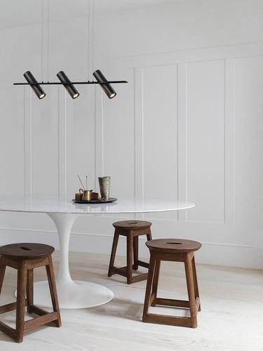 lampara suspendida colgante sala diseño moderna birot gatica