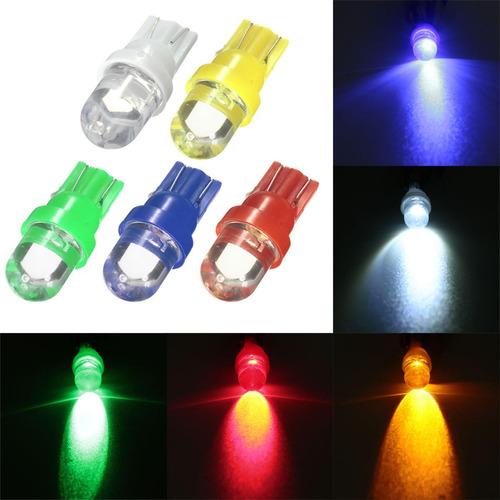 lampara t5 12v 1 led concavo roja   w2x4.6d 5301