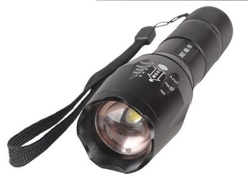 lampara tactica 3800 lumens cree led t6 recargable