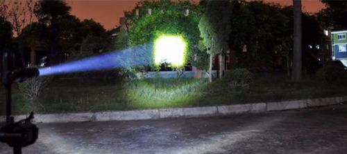 lampara tactica swat cree led 2600 lumens recargable zoom