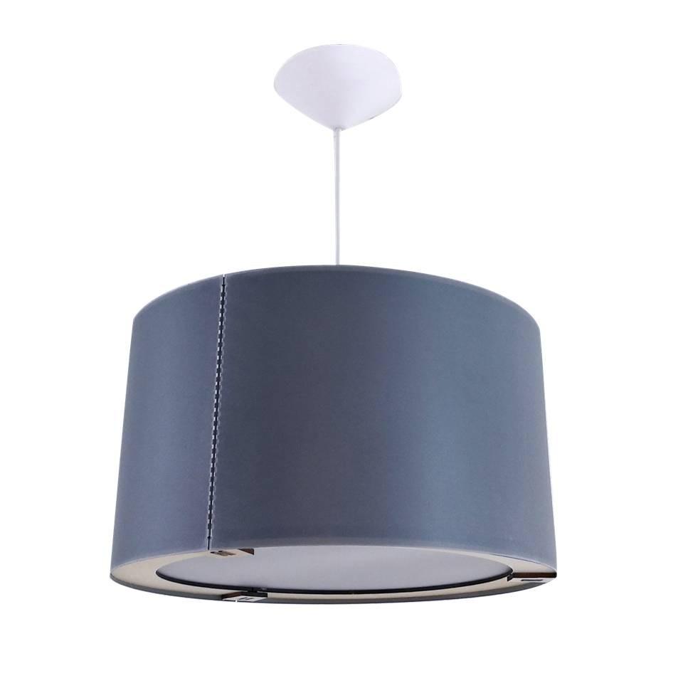 Gris Moderno Techo Cilindro Lámpara Diseño 36x20cm O Elegir L3AR54j