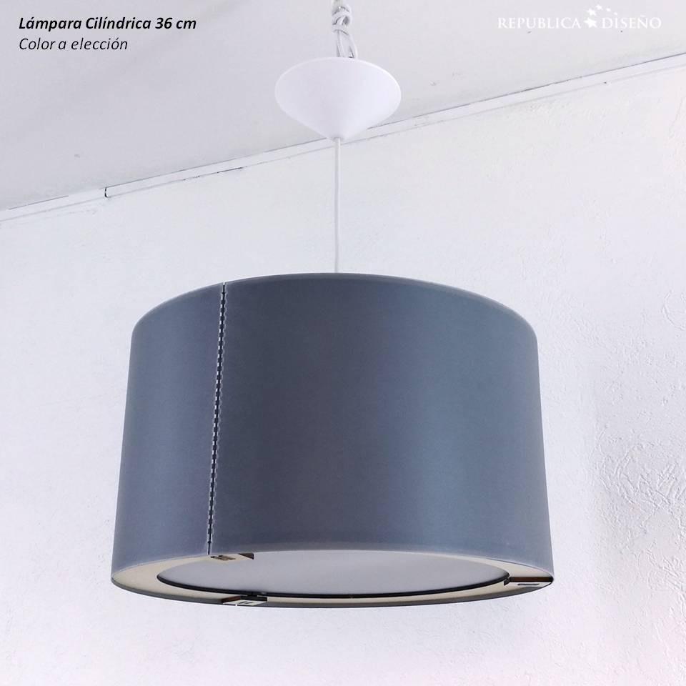Techo O Cilindro Diseño 36x20cm Lámpara Gris Moderno Elegir b7f6yYg