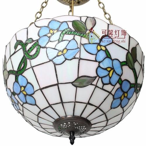lámpara techo colgante tipo tiffany f161034