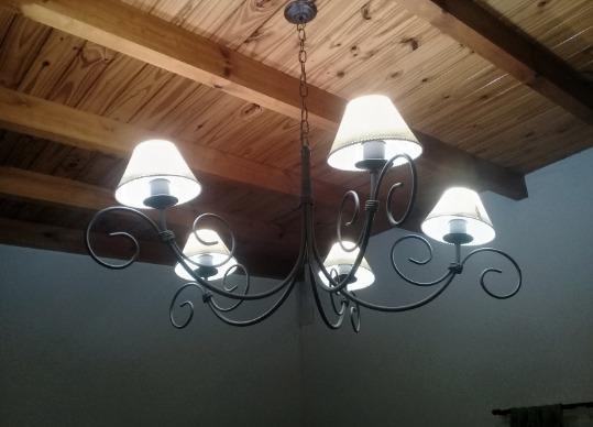 5 Galería Techo Led Patio Araña Oficina Salón Recepción Lampara Iluminación Focos Living OZiuPkXT