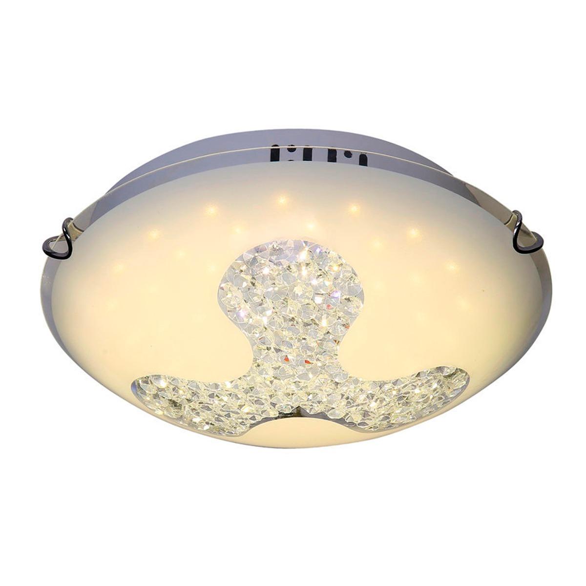 Lámpara Techo Led Redonda Interior Luz Blanca Decoración ...