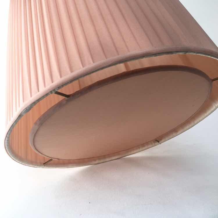Techo Nude Lámpara Electrificad990 Plisada 00 Rosa Color Pantalla TKlF1Jc3