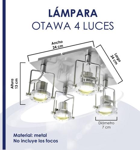 lampara techo plafon
