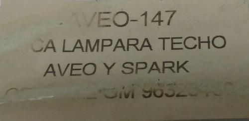 lampara techo spark aveo original gm
