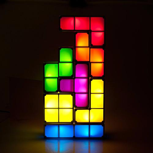 lampara tetris induccion armable tamaño grande