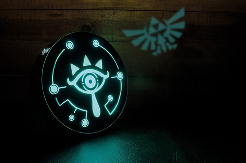 lampara the legend of zelda sheikah eye + envio gratis