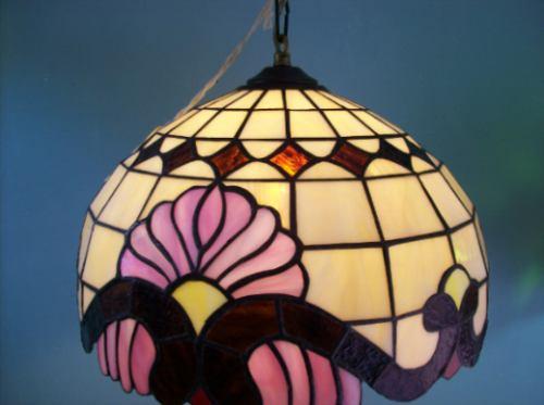 lampara tiffany modelo  br-036 colgante