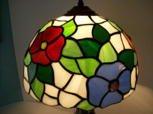 lampara tiffany modelo f-026 con base