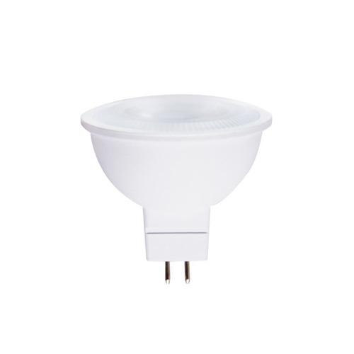 lampara tipo bulbo foco led modelo mr16 luz calida 5w illux