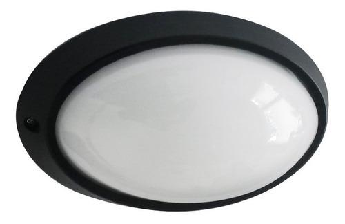 lámpara tortuga de exterior ovalada aluminio de led