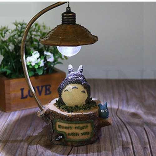 lámpara totoro - mi vecino totoro - geek hayao miyazaki