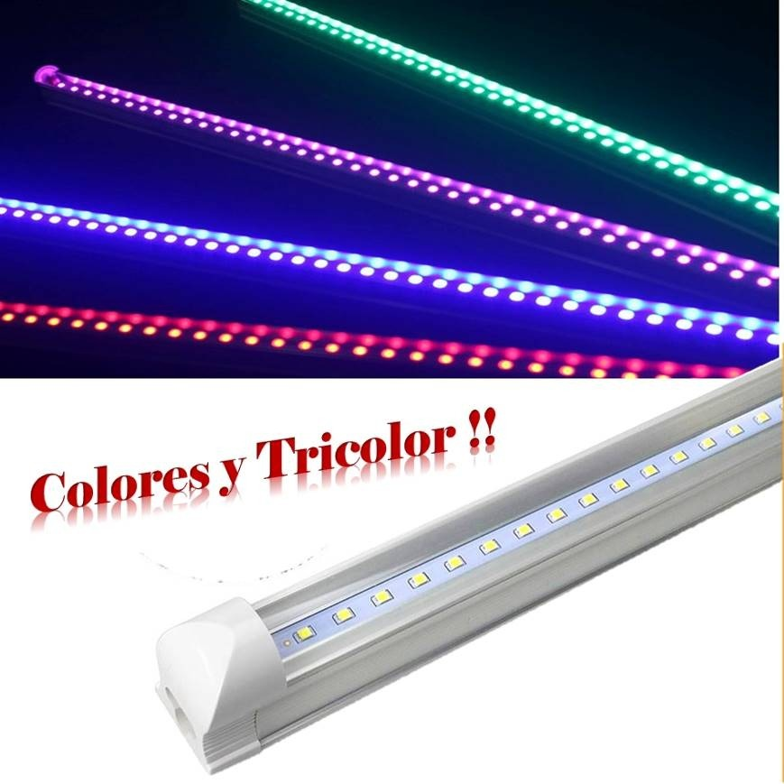 Tubo Pirata Lampara 20wT8MetálicaNo Chino Led Colores nwk8X0OP