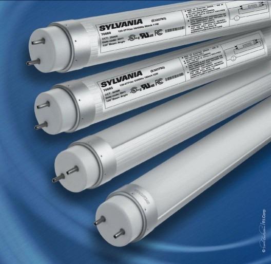 Lampara tubo led sylvania t8 10w 60cm 3 a os de garant a - Lamparas de tubo led ...