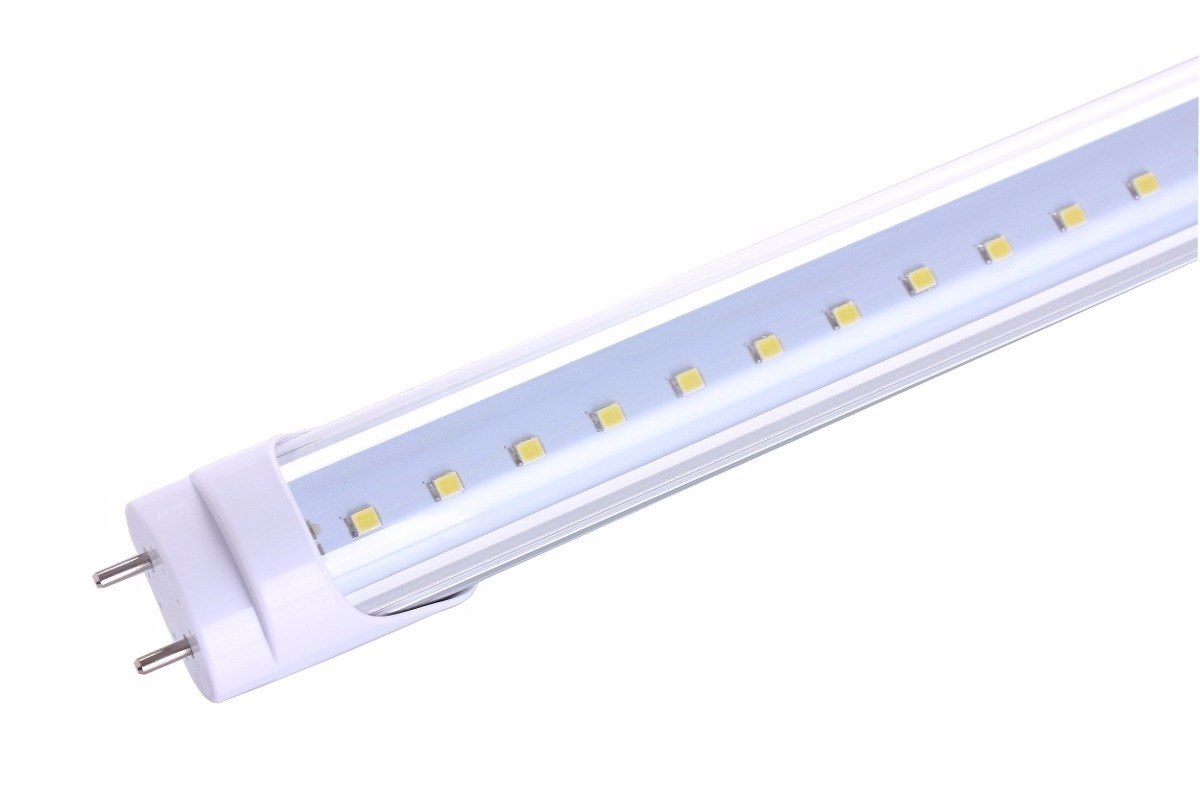 Lampara tubo led t8 18w cm ahorrador en for Lamparas de led para jardin
