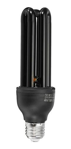lampara ultravioleta uv luz negra bajo consumo 40w e27
