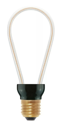 lampara unifilamento dimerizable 8w e27 vintage globo pera