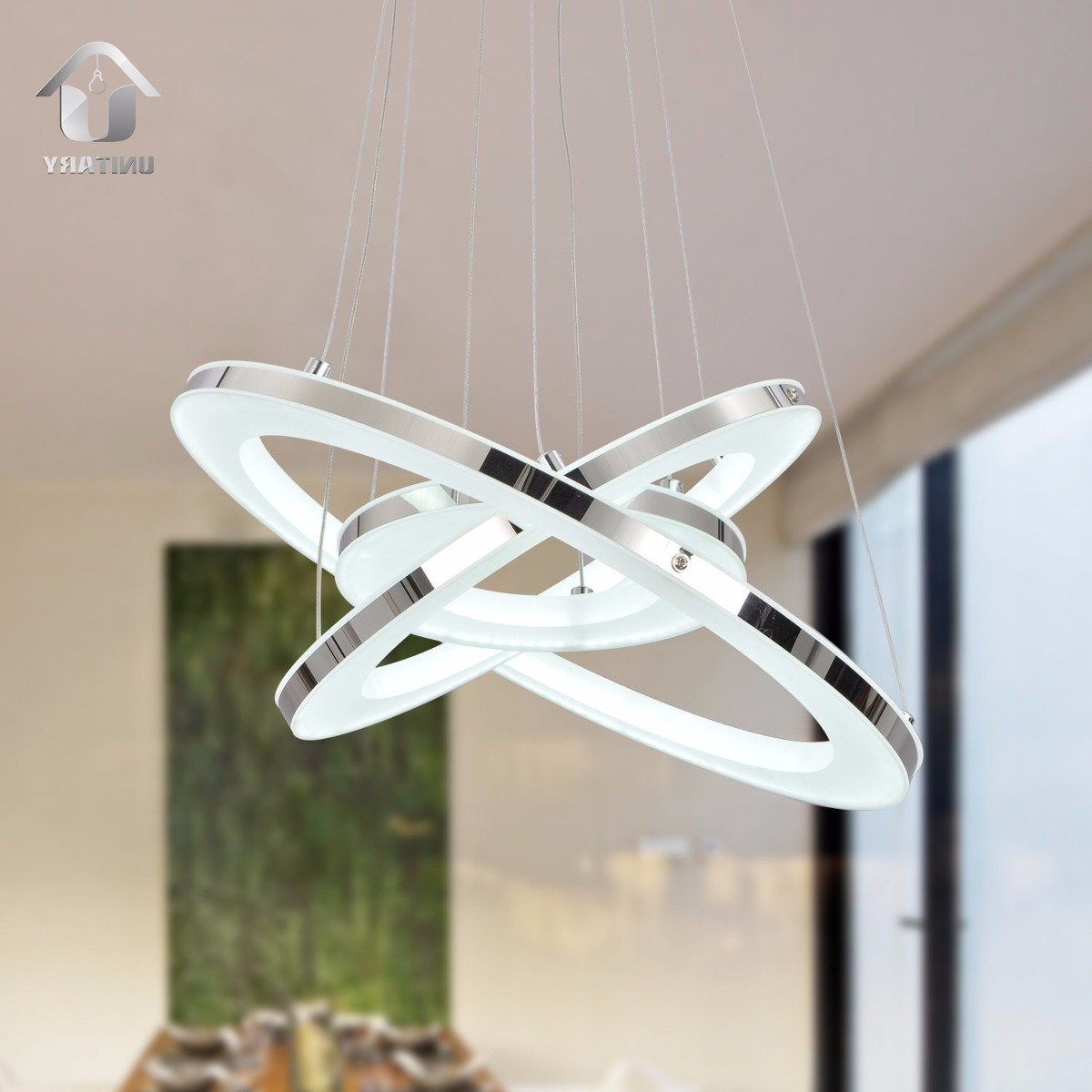 Lampara Unitary Brand Moderna Luz Natural Led - $ 6,299.00 en ...
