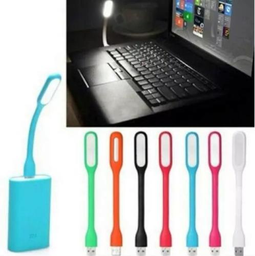 lampara usb de luz led blanca laptop mac computadora x 25 pc